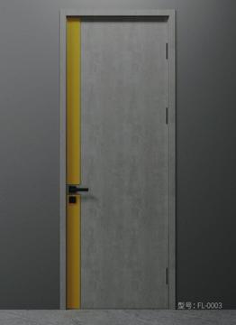 哥德无漆木门